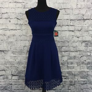 Ralph Lauren Lace Accent Dress (658)